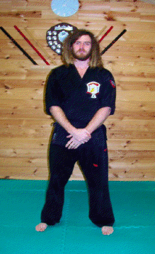 Kenpo Instructor Christopher Pover